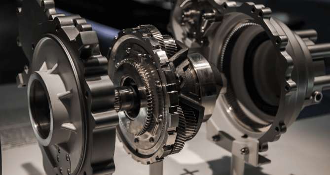 What is planetary gear reduction?