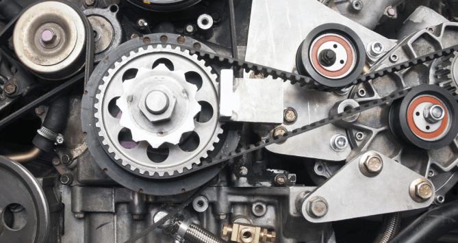 Precision made car engine parts