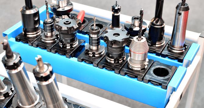 CNC Tool Holder Cart