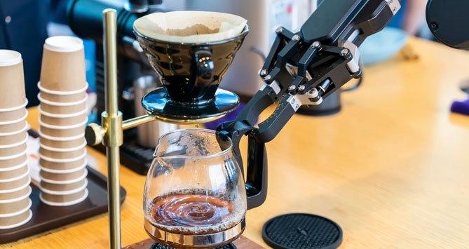 Robot espresso maker