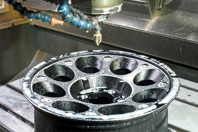 Aluminum Wheel CNC Lathe
