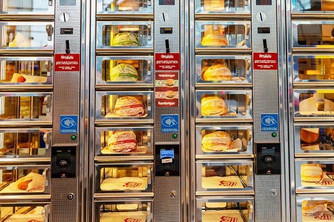 Meal Prep Vending Machine