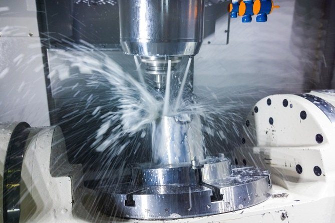 4th and 5th axis rotary table