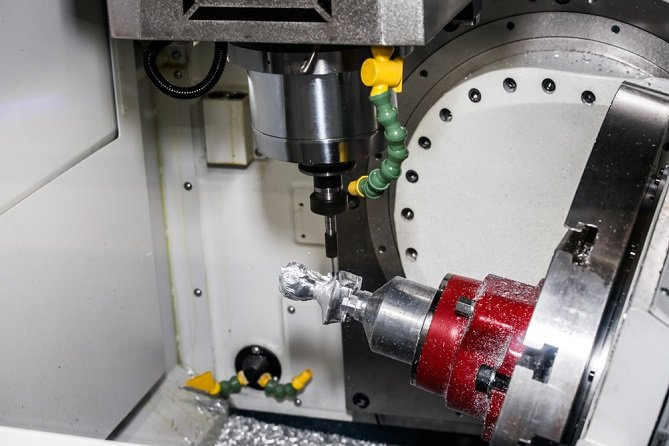 4th and 5th axis CNC rotary table