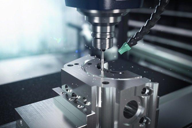 CNC mill drill