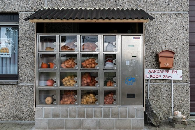 Vegetable Vending Machine